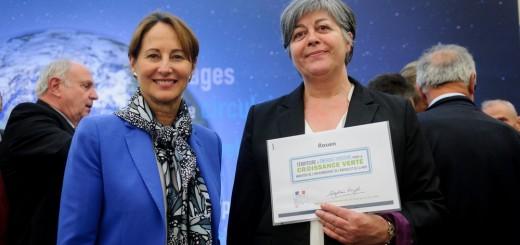 Signature des conventions des territoires à énergie positive pour la croissance verte (Hôtel de Roquelaure - Paris)